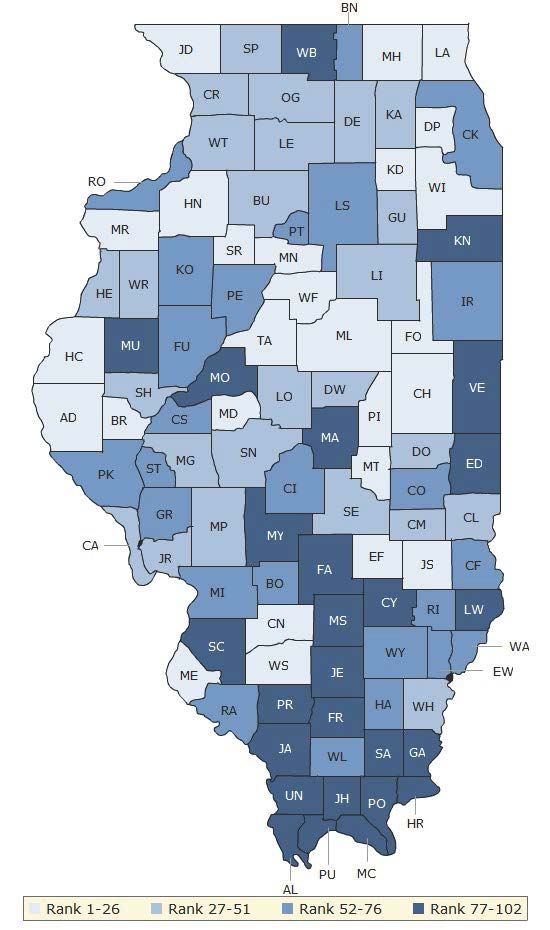 2016 Health Factors Illinois